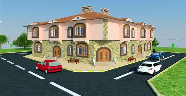Büyükşehir'den sosyal tesis
