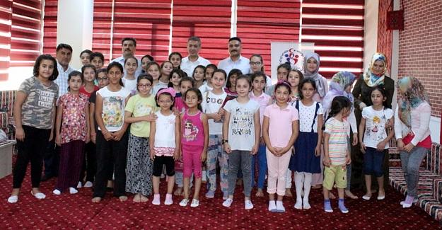 Yaz spor okulu etkinlikleri devam ediyor