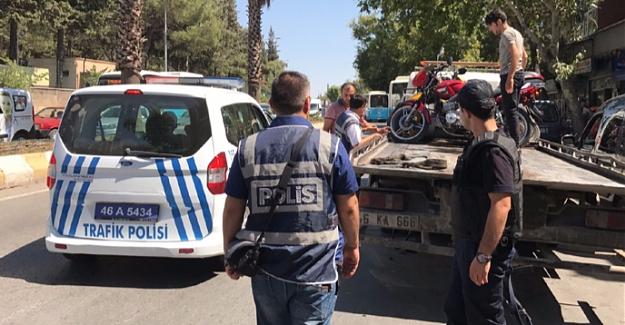 Polisten çalıntı motosiklet uygulaması