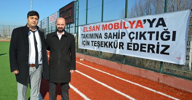 Elbistanspor'da sponsorluk anlaşması yapıldı