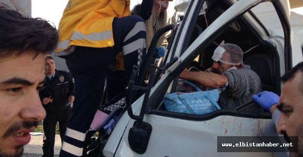 Trafik kazası: 1 ölü, 7 yaralı