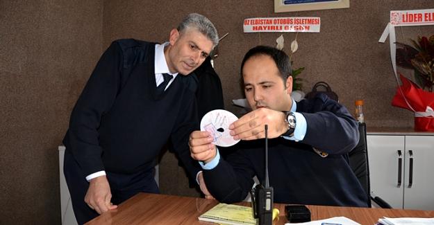 Otogar içerisine trafik polis noktası kuruldu