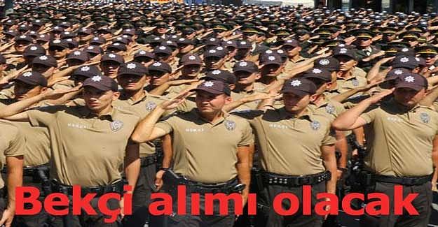 Kahramanmaraş'ta 170 bekçi alımı olacak
