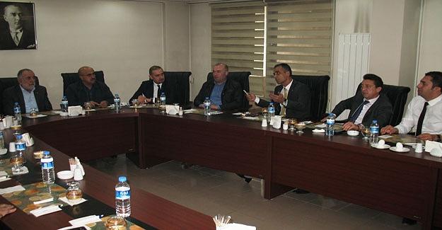 ETSO yönetimi, banka müdürlerini ağırladı