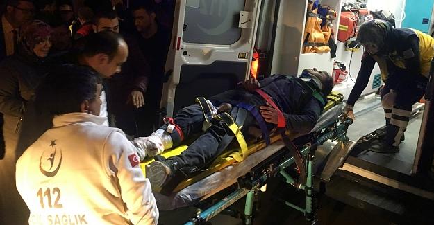 Elbistan'da feci kaza: 1'i ağır 3 yaralı