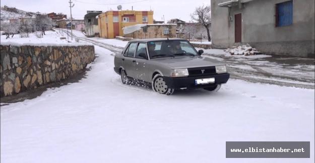 Elbistan'da Drift yapan 3 sürücüye 15 bin tl ceza!