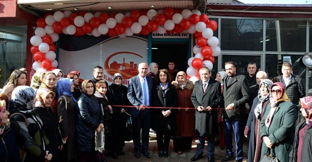 Elbistan'a Kadın Dinlenme Evi Açıldı