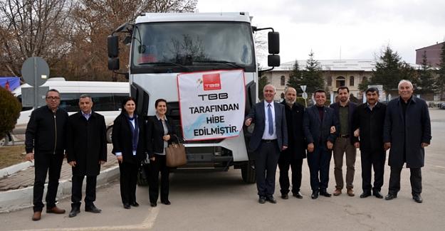 Başkan Vekili Ahmet Tıraş, Hayrettin Güngör'e teşekkür etti