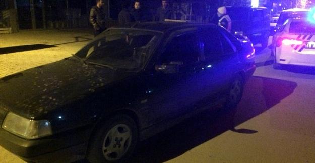 Elbistan'da 'drift' yapan sürücüye para cezası uygulandı