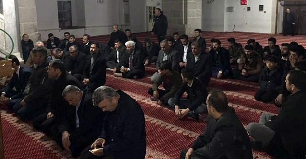 Elbistan'da Fırat Çakıroğlu ve Şehitler İçin Mevlit Okutuldu