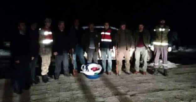 Kaçak Yaban Keçisi Avlayan Şahısa Ceza