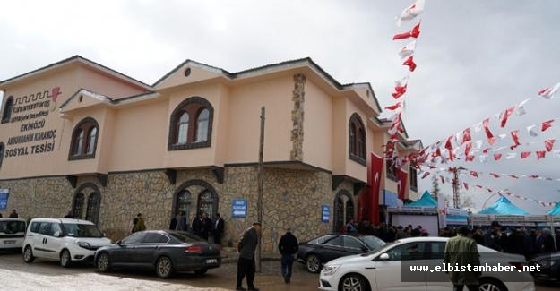 Abdurrahim Karakoç Sosyal Tesisi Hizmete Açıldı