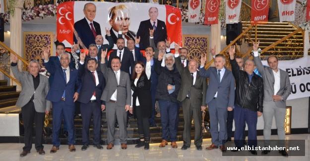 Cumhur ittifakı MHP belediye meclis üyesi adayları tanıtıldı