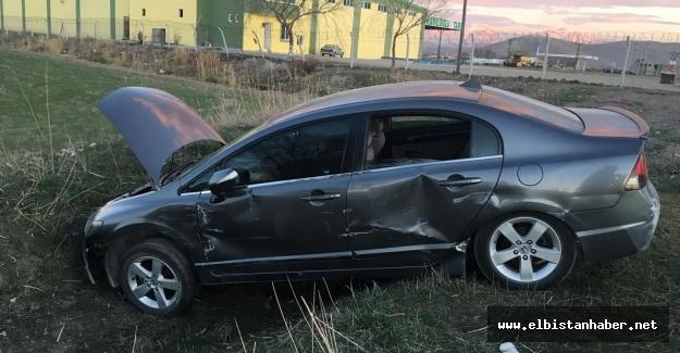 Elbistan'da trafik kazası: 5'i çocuk 6 yaralı