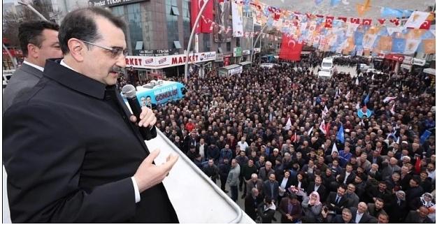 Enerji Bakanı Fatih Dönmez Elbistan'da: Çöllolar'ı tekrar işletmeye açacağız