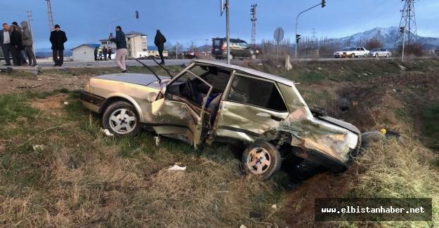 Feci kazada 25 yaşındaki genç ağır yaralandı