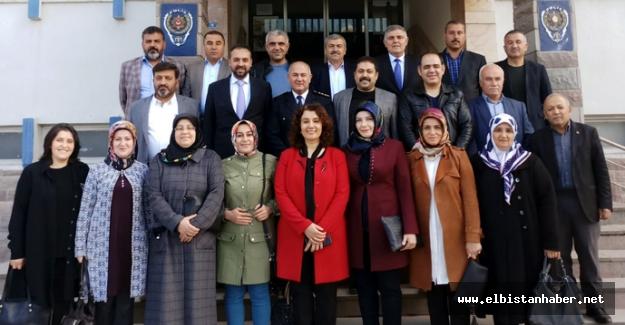 AK Parti'den Emniyete Polis Haftası Ziyareti