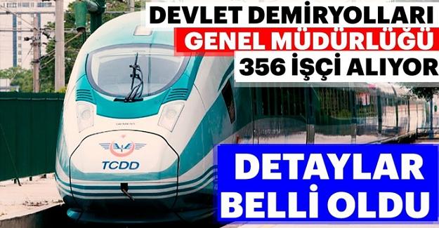 Devlet Demiryollarına personel alınacak