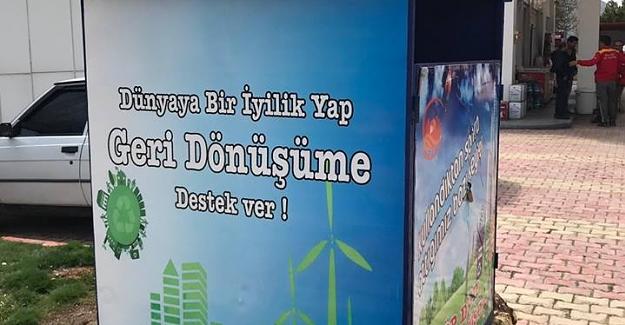 Elbistan Belediyesi'nden Sıfır Atık Projesi