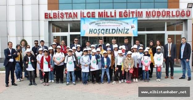 Elbistan'da öğrenciler bilim yürüyüşüne katıldı