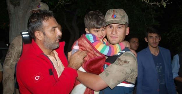 Çoğulhan'da kaybolun 4 yaşındaki çocuk bulundu