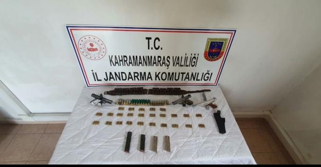 Jandarma silah yakaladı