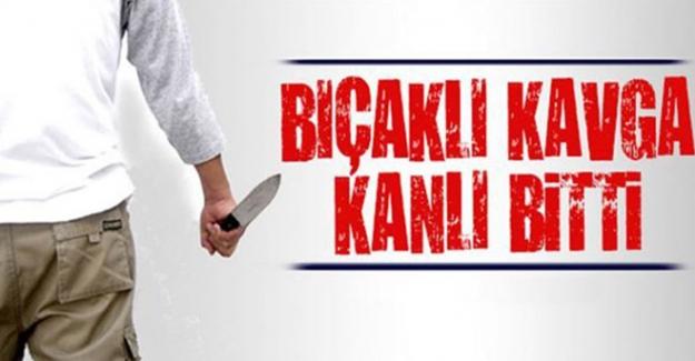Elbistan'da bıçaklı kavga 1 yaralı