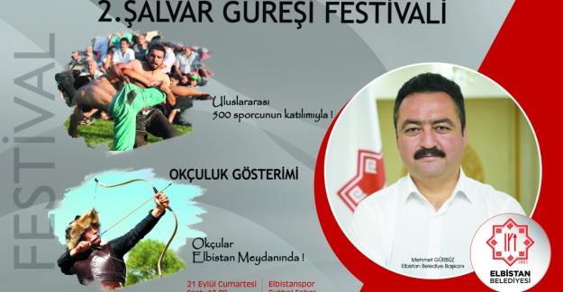 Başkan Gürbüz'den Güreş Festivaline Davet