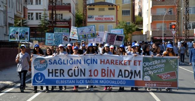 Dünya Yürüyüş Günü'nde yürüdüler