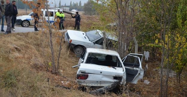 Elbistan'da zincirleme trafik kazası: 4 yaralı
