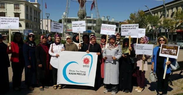 Elbistanlı kadınlardan Diyarbakır annelerine destek