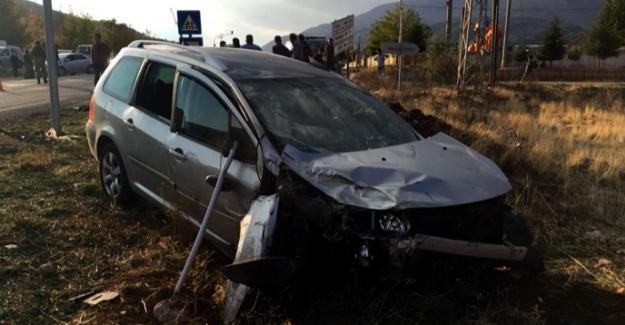 Nurhak'ta feci kaza: 9 yaralı