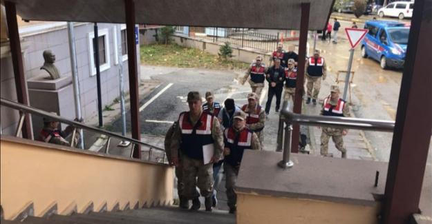 Baz istasyonu hırsızları Elbistan'da yakalandı