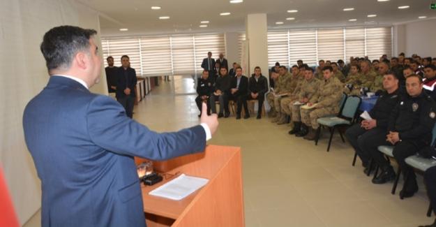 Elbistan'da  adli kolluk koordinasyon semineri düzenlendi