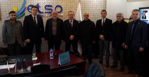 ETSO'ya Vergi Haftası ziyareti