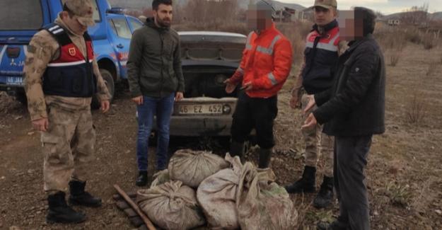 Jandarma kaçak balık avlayan kişilere göz açtırmıyor