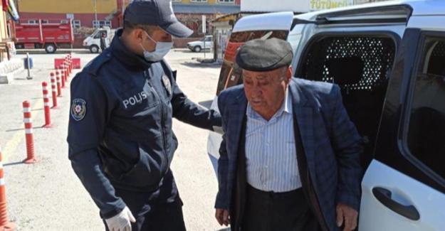 Evde kal çağrısına uyan yaşlıların yardımına polis yetişiyor