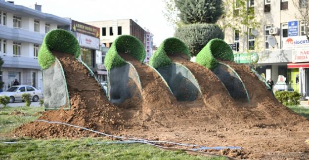 Şehit Er Rahmi Koldan Parkı Yenileniyor