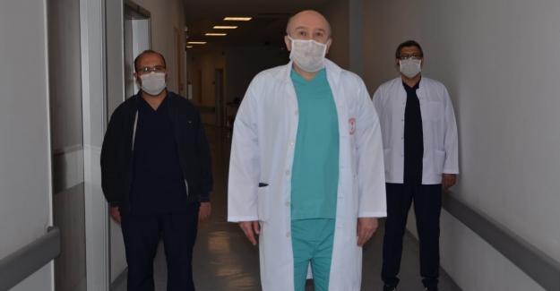 Elbistan'da Covid-19 tedavisi görüp taburcu olanların sayısı 50'ye ulaştı