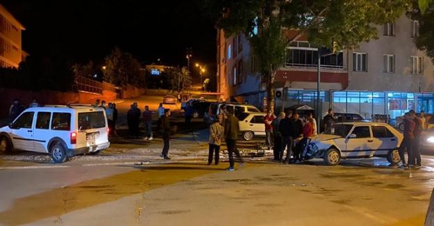 Elbistan'da trafik kazası ucuz atlatıldı