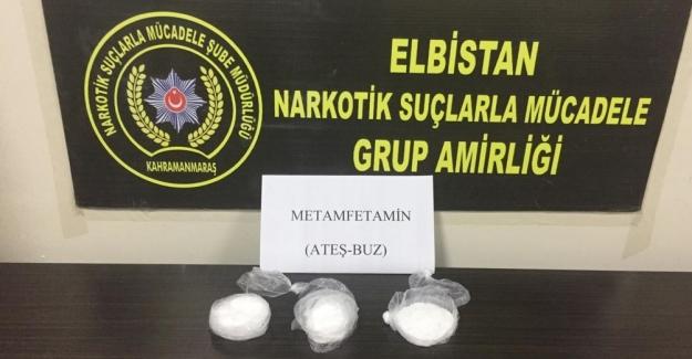 Elbistan'da uyuşturucu ticaretinden 1 kişi tutuklandı