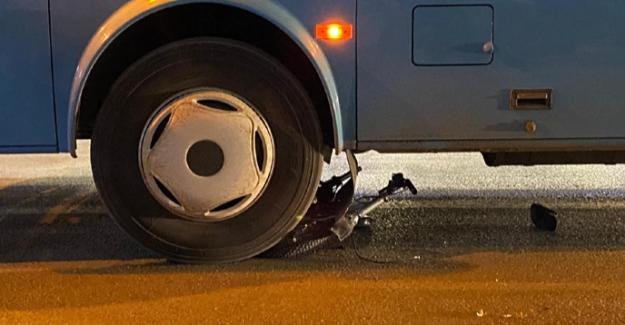 Halk otobüsünün altında kalan bisikletli çocuk öldü