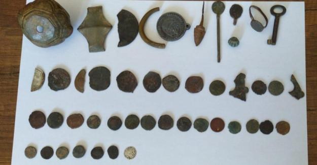 Tarihi eserleri satmak isteyen kişiye operasyon düzenlendi