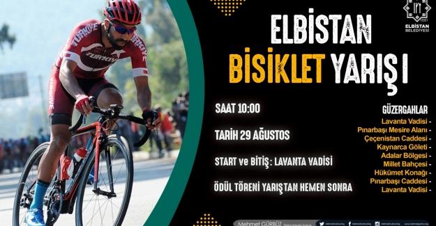 Elbistan Belediyesi'nden Bisiklet yarışı