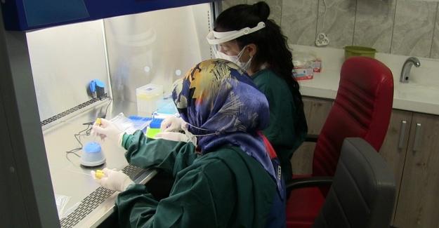 Elbistan Devlet Hastanesi'ne PCR laboratuvarı kuruldu