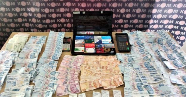 Polis pos tefecisine operasyon düzenledi