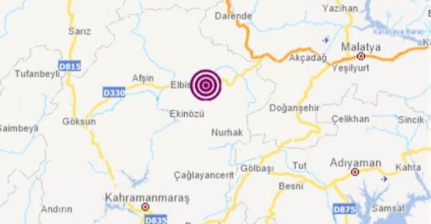 Elbistan'da deprem oldu
