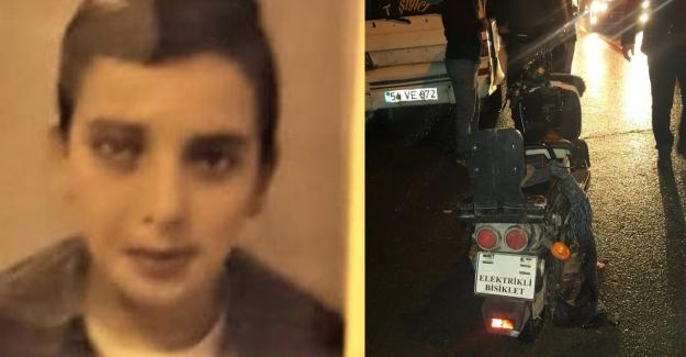 Halk otobüsünün çarptığı genç öldü