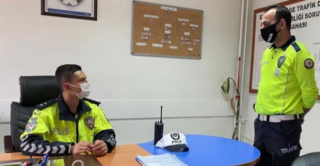 Down sendromlu Yakup'un polislik hayali gerçek oldu