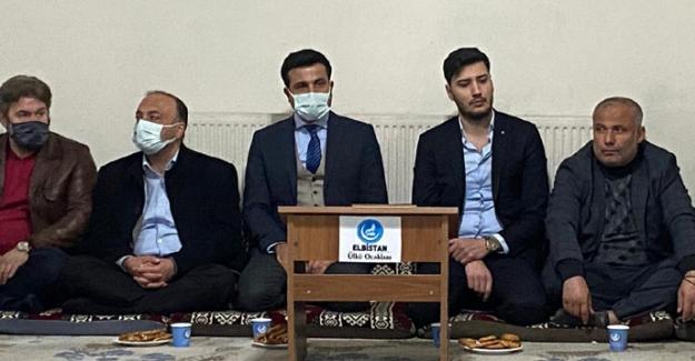 Helikopter kazası şehitleri için Kur'an okudular